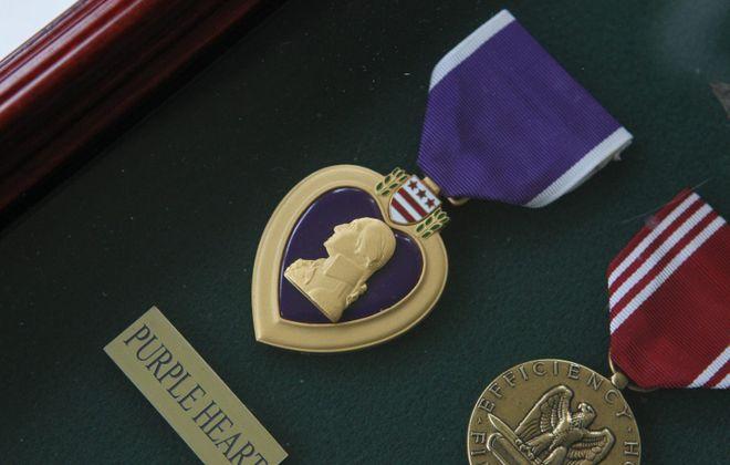 A Purple Heart. (Sharon Cantillon/News file photo)