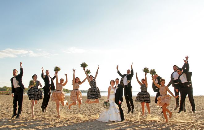 The beach's sprawling landscape provides a picturesque  backdrop  for making memories  (Photo courtesy of Dave & Liz Jarosz Photography)