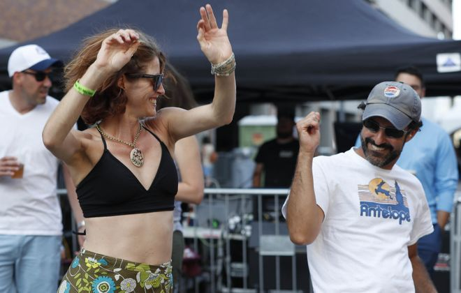 Last week, Cobblestone Live celebrated its third anniversary with its biggest crowd yet. It is one of a number of Western New York's growing grassroots music festivals. (Sharon Cantillon/Buffalo News)