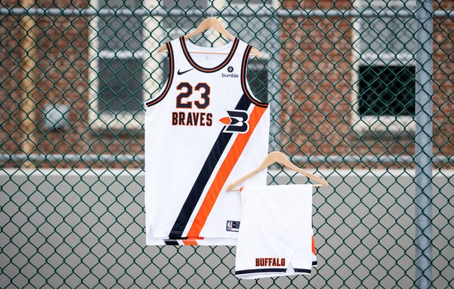 The Clippers will wear Buffalo Braves themed uniforms for some games this season (LA Clippers)
