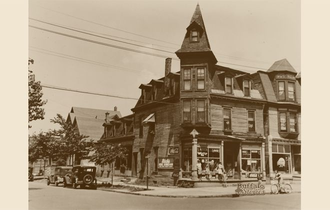 This store sat at the corner of Roehrer and Landon, about a block away from what was then Humboldt Parkway, but today is the Kensington Expressway. (Buffalo Stories archives)