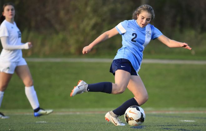 St. Mary's soccer player Shae O'Rourke is putting together another elite season. (Harry Scull Jr./Buffalo News)
