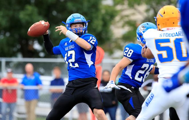 Zach Boyes and Kenmore West have been idle since opening the season with a home win over West Seneca West. (Harry Scull Jr./Buffalo News)