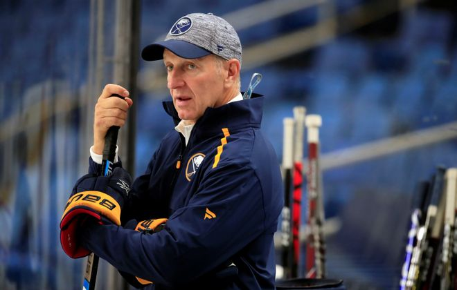 Sabres coach Ralph Krueger. (Harry Scull Jr./News file photo)