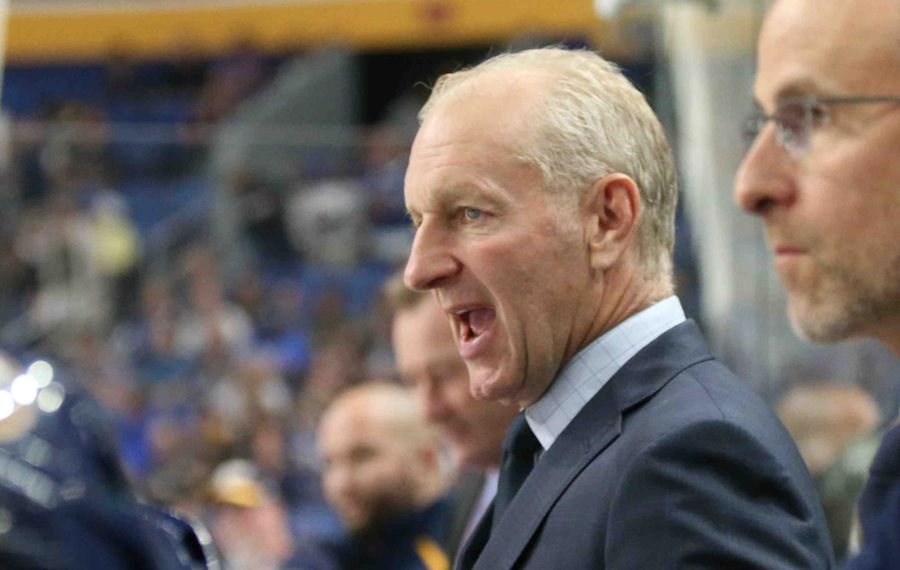 Ralph Krueger got some revenge Sunday against the Edmonton Oilers. (James P. McCoy/News file photo).