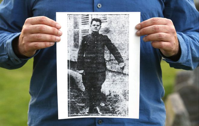 An image of Casimer Mazurek, one of two Lackawanna steelworkers shot to death during the Great Steel Strike of 1919, which had a deep impact in greater Buffalo. (Robert Kirkham/News file photo)