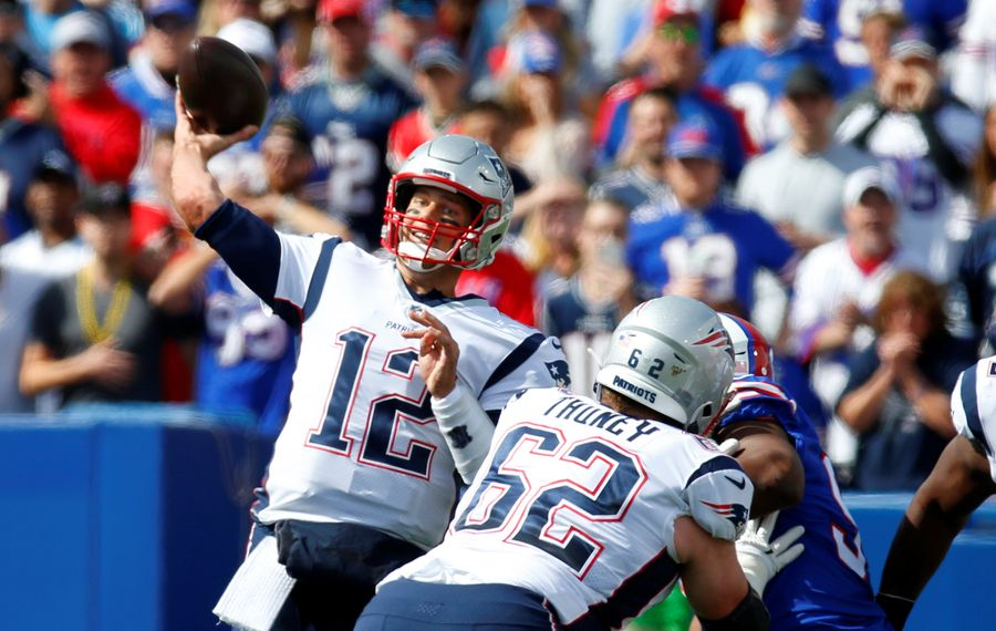 Patriots quarterback Tom Brady. (Harry Scull Jr./News file photo)
