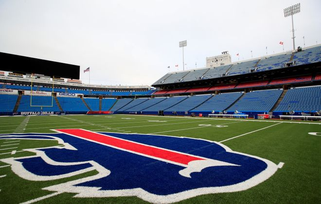 With the Bills' lease at New Era Field expiring after the 2022 season, stadium talk is about to get serious in Western New York. (Harry Scull Jr./News file photo)