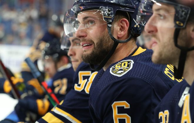 Marco Scandella is off to Montreal (James P. McCoy/News file photo).