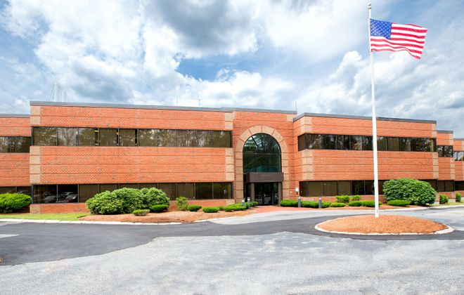 Ciminelli Real Estate Corp. purchased this property outside of Boston. (Courtesy of Avison Young)