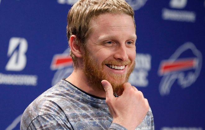 Bills wide receiver Cole Beasley. (Derek Gee/News file photo)