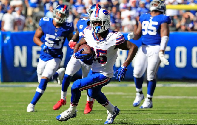 Bills receiver John Brown. (Harry Scull Jr./News file photo)
