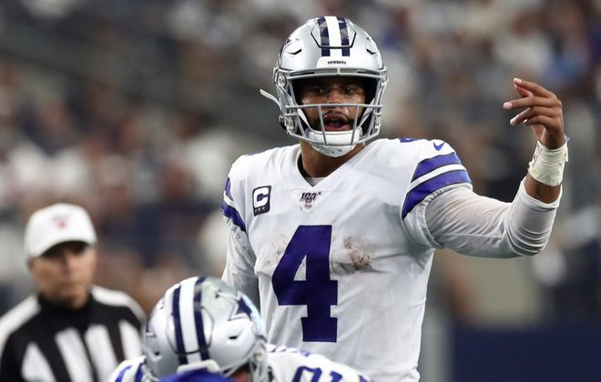 Dak Prescott of the Dallas Cowboys. (Getty Images)