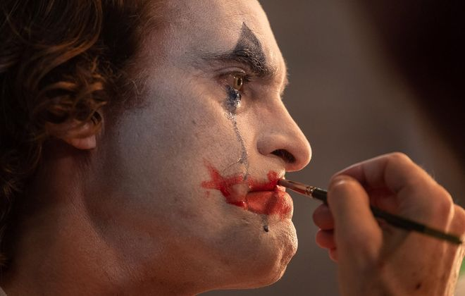 "Joaquin Phoenix is intense in the title role of ""Joker,"" a film not meant for children. (Nikos Tavernise/Warner Bros. Pictures/TNS)"