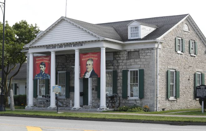 The Holland Land Office is said to be the birthplace of Western New York. (Sharon Cantillon/Buffalo News)