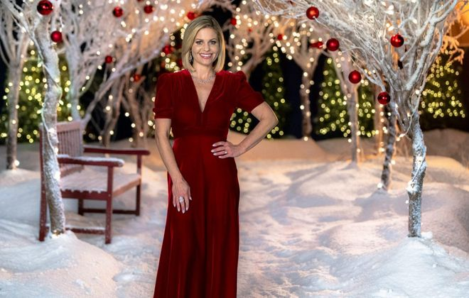 """Candace Cameron Bure  will again be part of Hallmark's holiday programming for 2019. Her new film is """"Christmas Town,"""" premiering Dec. 1 on Hallmark.  (Photo courtesy Crown Media)"""