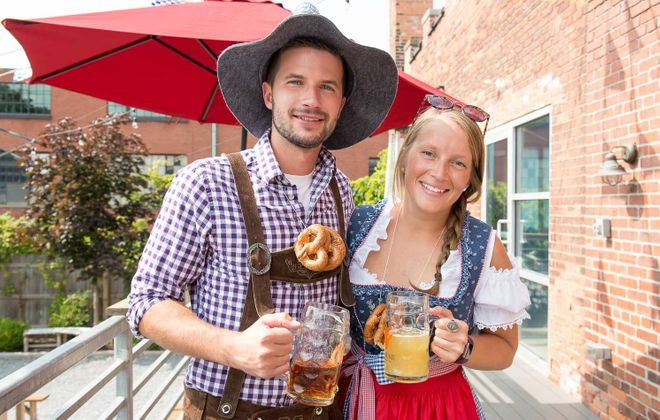 It's Oktoberfest season in the Buffalo area, with a wealth of options for this weekend. (Matt Weinberg/Special to The News)