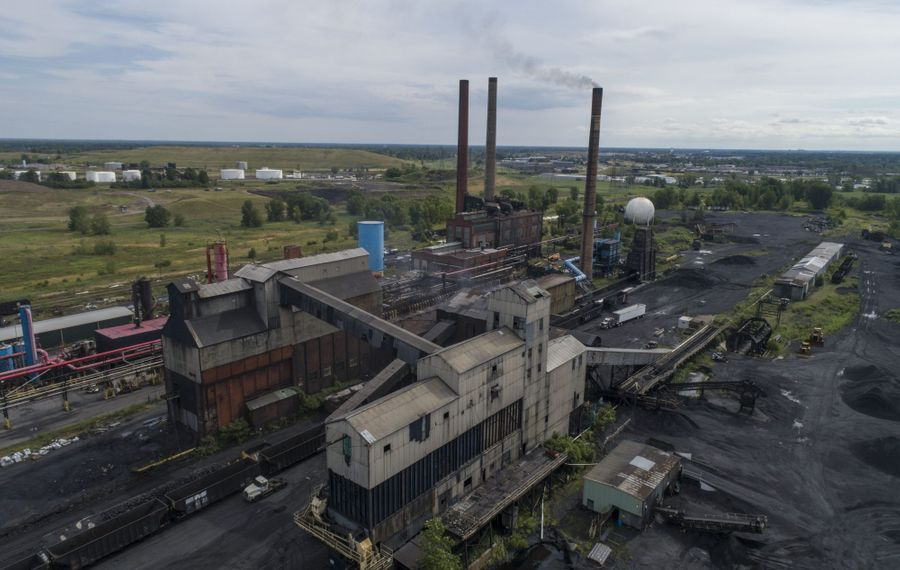 There were no bidders at Monday's public auction of the Tonawanda Coke site on River Road. (Derek Gee/News file photo)