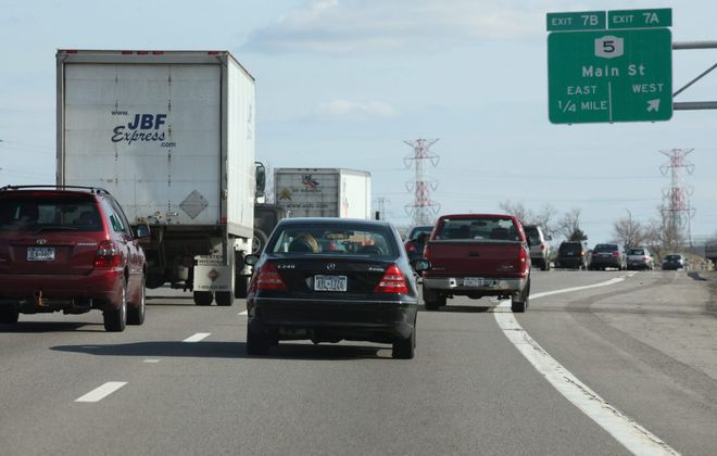 Traffic on the Interstate 290. (Harry Scull Jr./News file photo)