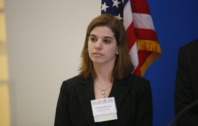 Amanda Nickerson, director of the University at Buffalo's Alberti Center for Bullying Abuse Prevention, says having a committee that will make sure the task force's recommendations don't just sit on a shelf is key to reducing bullying. (Derek Gee/News file photo)