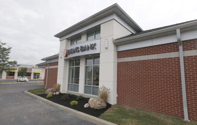 Evans Bank branches are going drive-thru only starting Friday. (News file photo)