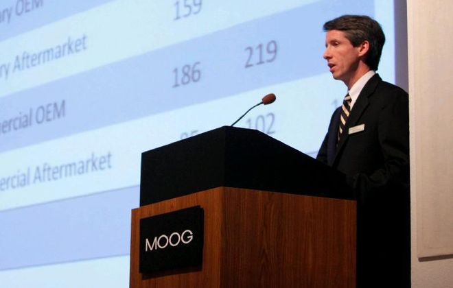 John Scannell of Moog is being honored as executive of the year. (News file photo)