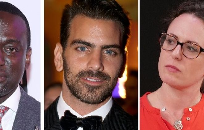 "The UB Distinguished Speaker series will include, from left, criminal justice advocate and Central Park Five member Yusef Salaam; ""Dancing With the Stars"" winner and deaf activist Nyle DiMarco, and Pulitzer Prize-winning New York Times journalist Maggie Haberman. (Getty Images)"