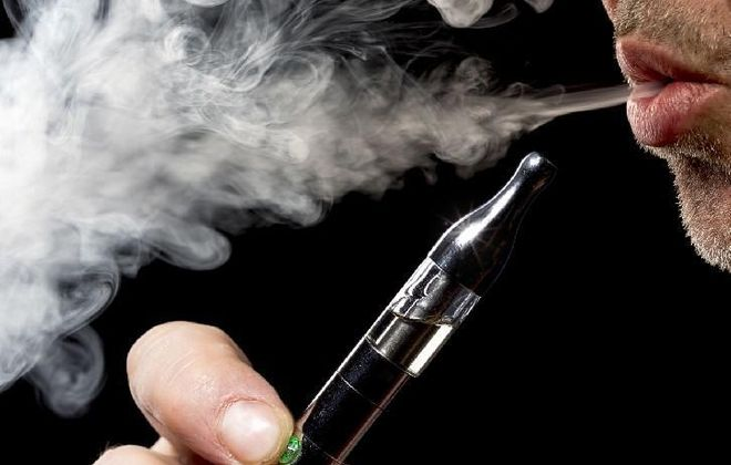 Vaping is an addiction that can cause lung disease and raise the risk of a troublesome outcome for those who contract the novel coronavirus, two national health organizations say. (News file photo)