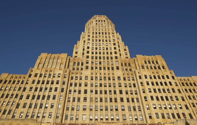 Buffalo's City Hall. (Derek Gee/Buffalo News)