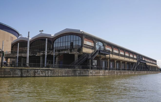 The DL&W Terminal on the Buffalo River could finally be redeveloped, based on plans by the Niagara Frontier Transportation Authority and the Savarino Cos. (Derek Gee/Buffalo News)