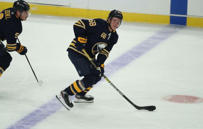 Sabres right wing Victor Olofsson has seven power play goals. (James P. McCoy/Buffalo News)