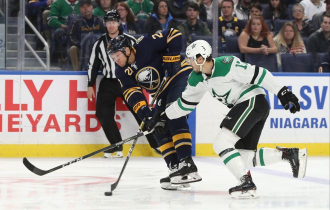 Sabres winger Kyle Okposo has suffered his fourth concussion in three years (James P. McCoy/News file photo)