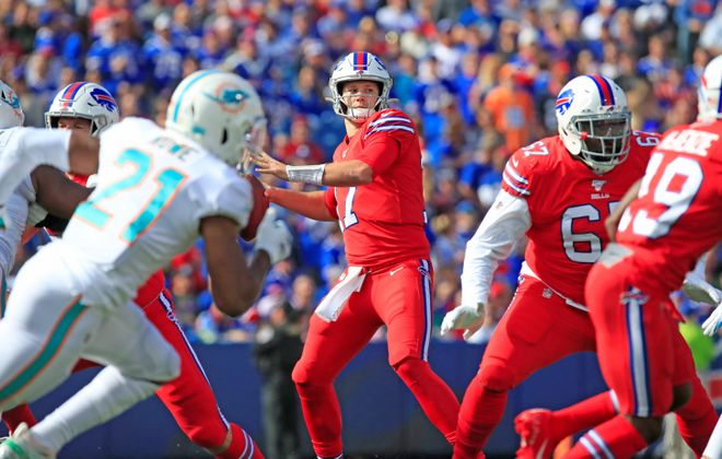 The cost to see quarterback Josh Allen and the rest of his Bills teammates play in 2020 will go up. (Harry Scull Jr./Buffalo News)