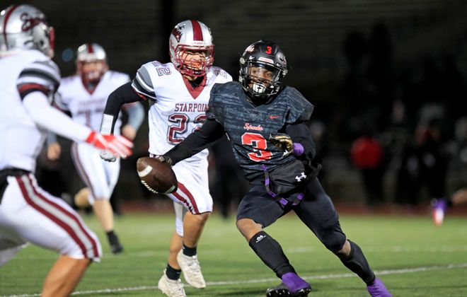 Junior running back Keith Jackson is a key player for South Park. (Harry Scull Jr./Buffalo News)