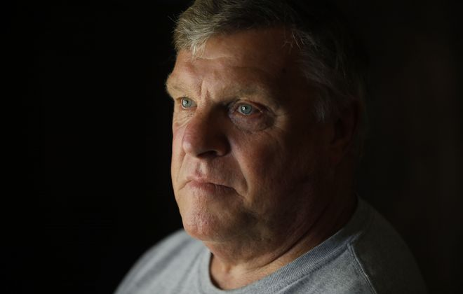 Richard Gabel was an Army combat infantryman in Vietnam, where he survived a gunshot wound in battle and returned to finish out his tour. (Derek Gee/Buffalo News)
