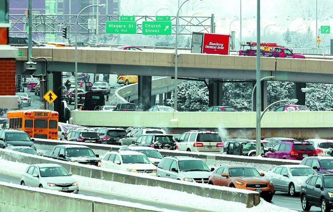 A traffic jam. Remember those? (Derek Gee/News file photo)