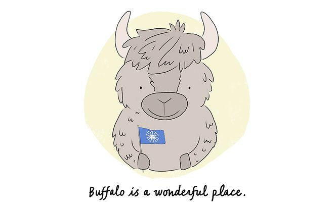 "Illustration from ""Hello Buffalo!"""