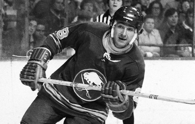 The Fog Game earned Sabres winger Jim Lorentz a nickname that stuck with him for the rest of his NHL career. (Steve Babineau/NHLI via Getty Images)