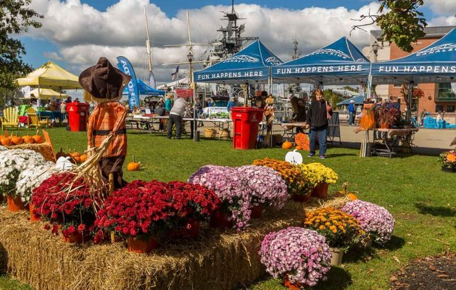 Canalside - it's beautiful in the fall. Autumn Happens Here - the rebranded Canalside Fall Festival - runs Saturday. (Don Nieman/Special to The News)