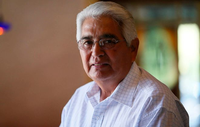 Barry E. Snyder Sr. of the Seneca Nation. (Derek Gee/News file photo)