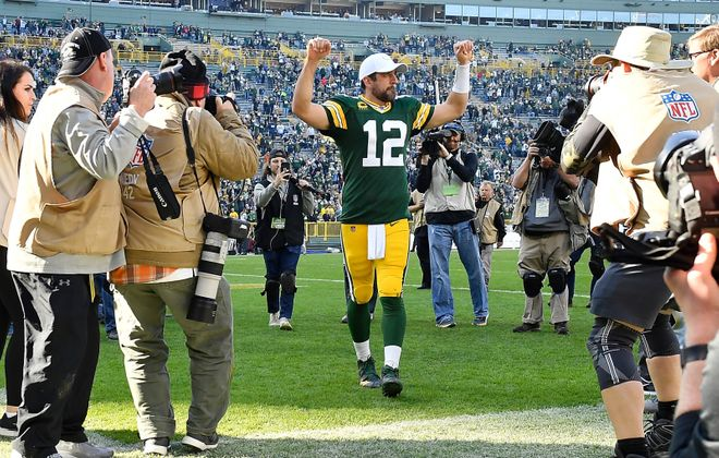 Aaron Rodgers and the Green Bay Packers face the Kansas City Chiefs. (Getty Images)