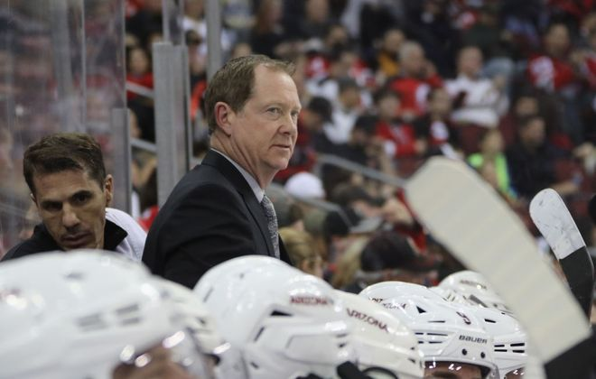 Phil Housley coached the Buffalo Sabres from 2017-19. (Getty Images)