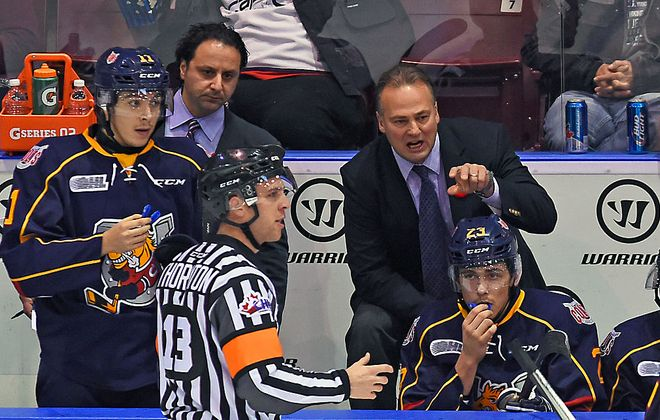 Dale Hawerchuk has been the coach of the OHL's Barrie Colts for nine seasons. (Getty Images file photo)