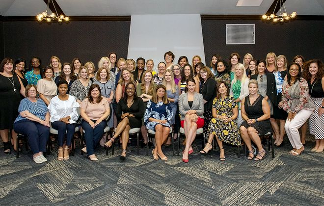 The Fifty Fabulous Women Gifting Circle came together in September, heard presentations from three local organizations then selected Teens in Progress as their first-ever beneficiary. (Matt Weinberg)
