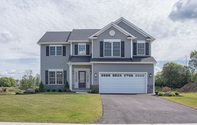 Essex Homes shows its 'Weston' model in the Northwoods community