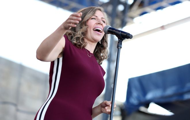 Rachael Price and Lake Street Dive return to Buffalo, this time for a concert in Asbury Hall at Babeville. (Getty Images)
