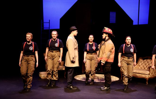 "The Niagara University Theatre Department has opened its new season with ""The Firebugs."" (Photo courtesy of Andrew Emmons/Niagara University)"