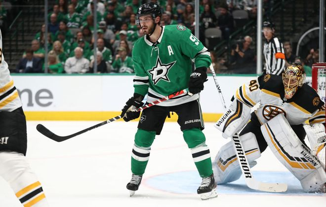 Dallas center Tyler Seguin says today's game in KeyBank Center opens a crucial early-season road trip for the Stars. (Getty Images)