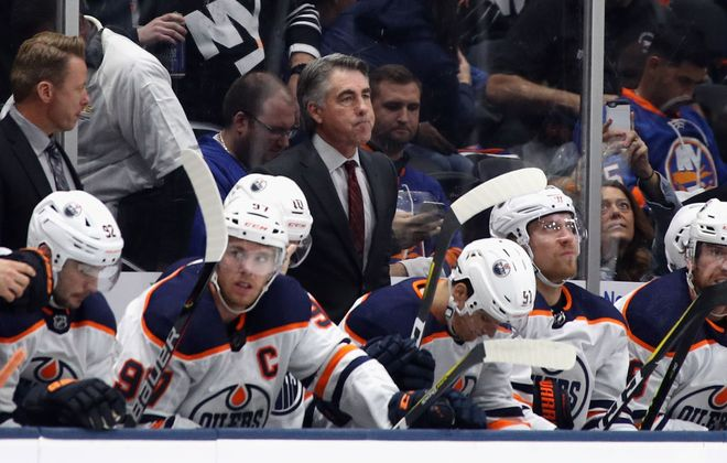 Dave Tippett left the front office putting together the Seattle expansion franchise to get back behind the bench with Edmonton (Getty Images).