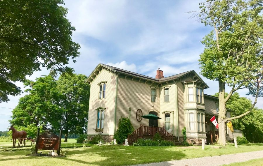 Graestone Manor Bed & Breakfast is a restored Victorian estate in Gasport N.Y.  But there is more to this place than its complimentary breakfast. (Photo courtesy Heather Rease Mattison)